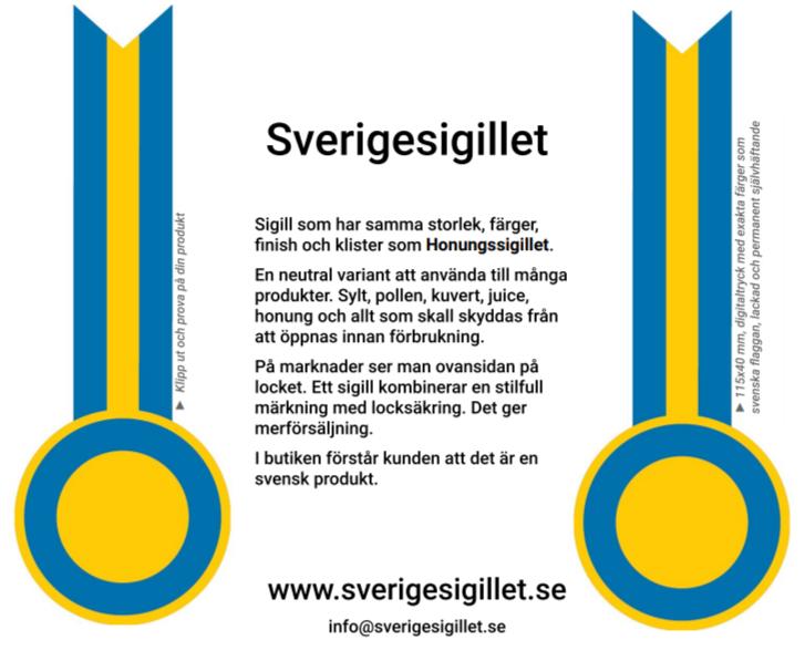 Beställ Sverigesigillet
